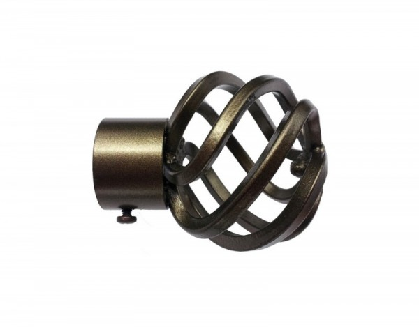 32mm Basket Finial – Bronze