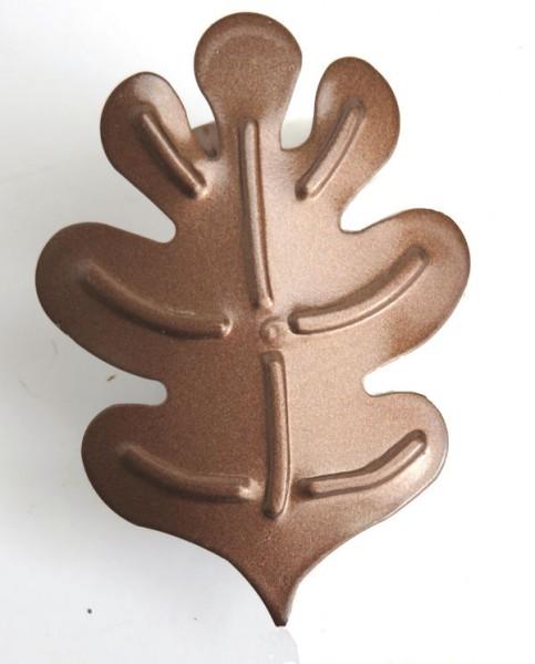 Oak Leaf Clip – C166 – Chocolate-Brown