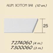Aluminium Bottom Bar