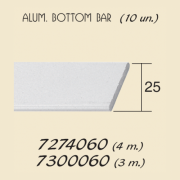 Aluminium Bottom Bar