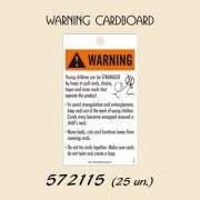 Warning Carboard