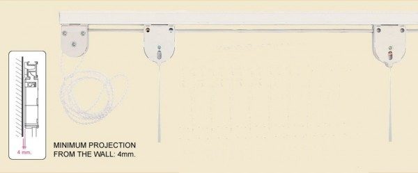 P – 864 roman blind geared