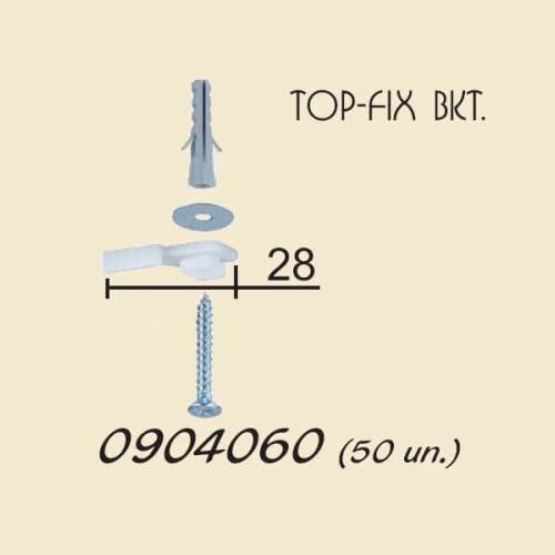 top-fix brackets