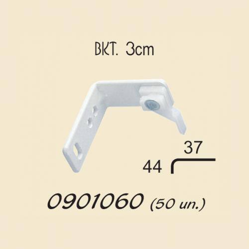 3cm face-fix brackets
