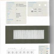 52 – 70mm Gathering Tape – Heavy Duty – Multipocket
