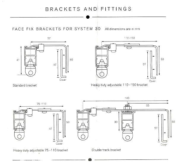 system 30 brackets – 2